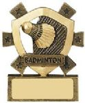 Badminton Mini Shield Award